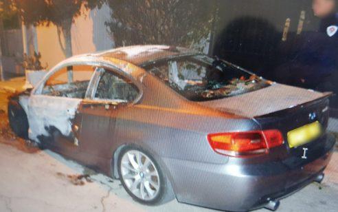 נעצרה חשודה בהצתה של כלי רכב בבית שמש – הרקע רומנטי