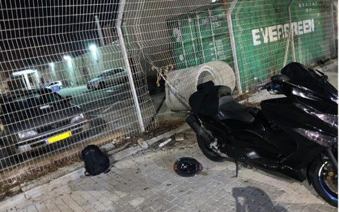 נעצר חשוד בעת שפרץ למתחם תחנת המשטרה בעכו וניסה לגנוב מתוכו אופנוע שהוחרם לו
