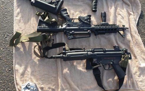 נתפסו 3 כלי נשק ברכב בו נסעה משפחה (בעל, אישה, ילד בן ימים ספורים ובת קטנה) שעשתה דרכה מהשטחים לכיוון ירושלים