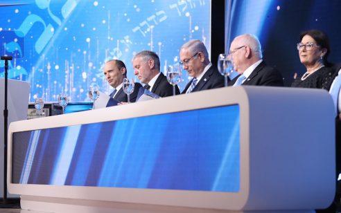 """נאום הפרידה של השר בנט בטקס פרסי ישראל תשע""""ט"""