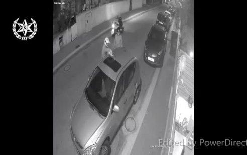 צפו: בן זוגה לשעבר של תושבת נתניה הצית את רכבה ביחד עם חברו – החשודים נעצרו