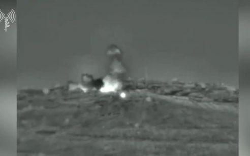 בתגובה לירי לעבר ישראל: חיל האוויר תקף בסוריה