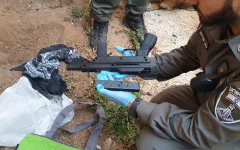 נצרת: רובה קרלו מאולתר אותר מוסלק באדמה בחצר בית – חשוד בהחזקה צעיר בן 18 נעצר