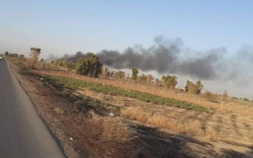 דיווח: כלי טיס תקף בסיס צבאי של המיליציות האיראניות במערב עיראק
