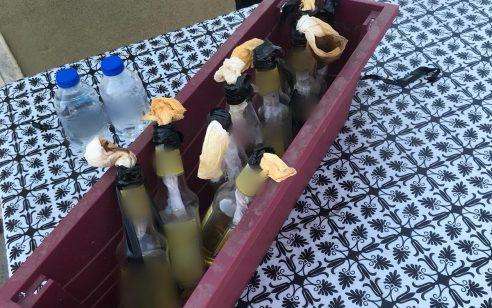 שמונה בקבוקי תבערה מוכנים לשימוש אותרו בחיפוש בבית בעיר עראבה