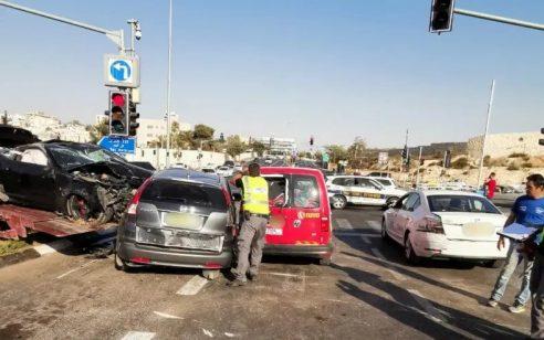"""225 קמ""""ש בלב ירושלים: כך הסתיים המרוץ בכביש הראשי בטרגדיה"""