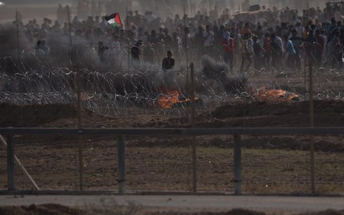 """משרד הבריאות בעזה: מחבל נהרג בעימותים עם כוחות צה""""ל באיזור ג'באלייה"""