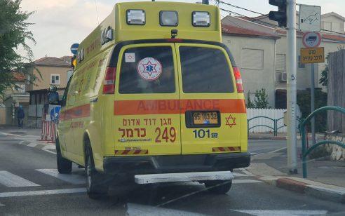 הולכת רגל כבת 55 נפגעה מרכב בקרית טבעון – מצבה קשה