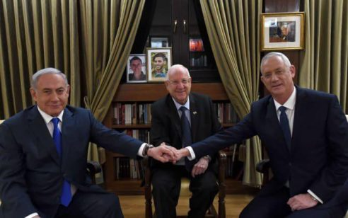 מבוי סתום במשא ומתן: אחרי מעל לשעה הסתיימה פגישת נתניהו וגנץ