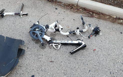 שני רוכבי אופניים נהרגו בתאונה סמוך לצומת הדרים