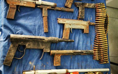 בפעילות המשטרה הלילה בכפר יאטה אותרה מחרטה ליצור כלי נשק ונתפסו 7 כלי נשק מאולתרים ותחמושת רבה