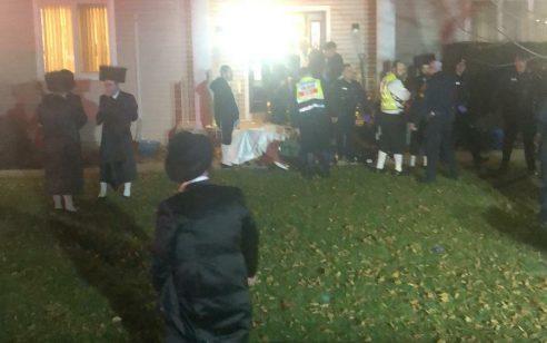"""ארה""""ב: חמישה חרדים נפצעו בפיגוע דקירה בבית כנסת במונסי – החשוד נתפס"""