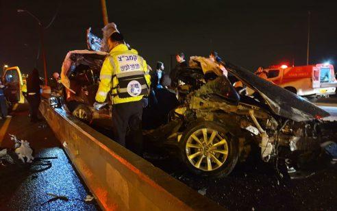 הקטל בכבישים: גבר ואישה נהרגו בתאונה קשה בסמוך לאשדוד