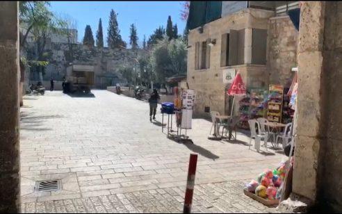 פיגוע ירי סמוך להר הבית: שוטר נפצע קל – מחבל תושב חיפה חוסל