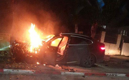 ניסיון חיסול בבית שאן: גבר בן 47 מוכר למשטרה נפצע קל עד בינוני בפיצוץ רכב