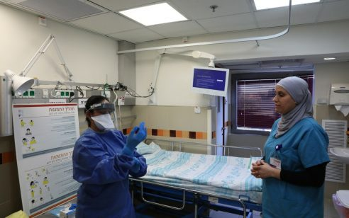 """בשורות טובות: ארבעה חולי קורונה שהיו במצב קל בבית חולים רמב""""ם הבריאו"""