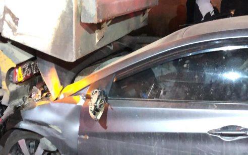 הקטל בכבישים: שני הרוגים ושני פצועים בינוני בתאונה סמוך לצומת גורל בנגב