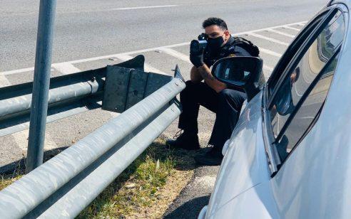 """כ-2,500 דו""""חות בגין עבירות מסכנות חיים ובריונות כביש נרשמו בסופ""""ש"""