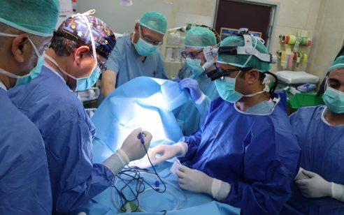 ניתוח מורכב ומוצלח במרכז הרפואי זיו: צינורית נשימה הוחדרה לתינוקת בת 3 חודשים