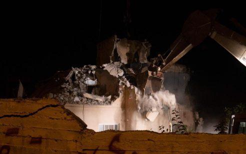 """צה""""ל הרס הלילה את ביתו של המחבל שהיה מעורב ברצח הנערה רנה שנרב ז""""ל בפיגוע במעיין דני"""