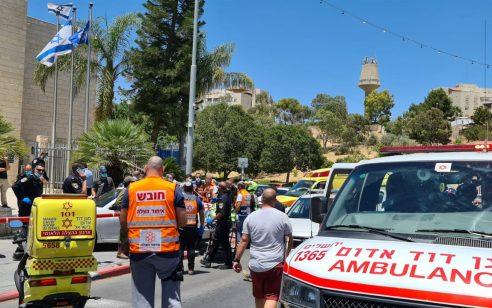 הרוג ושלושה פצועים מקטטה הובאו לתחנת המשטרה במעלה אדומים