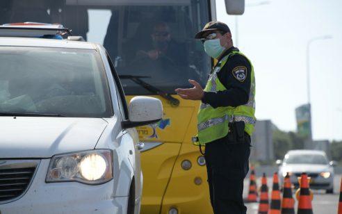 """במהלך השבוע נרשמו כ-4,400 דו""""חות תנועה, מתוכם מעל 800 בגין השימוש בנייד בזמן נהיגה"""