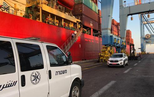 המשטרה פתחה הבוקר בחקירת זירת רצח של ימאי באוניה זרה מול חופי יוון