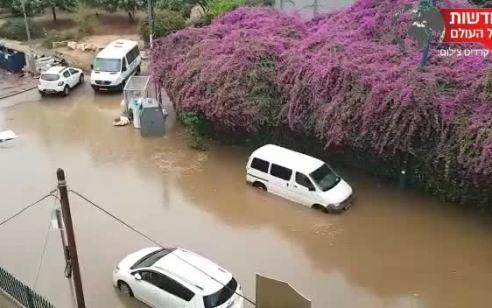 הגשמים יימשכו לצד ירידה בטמפרטורות וחשש מהצפות   התחזית המלאה