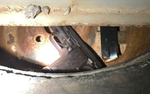 המאבק בנשק הבלתי חוקי בחברה הערבית: שני קטינים נתפסו בעת שביצעו ניסוי ירי בנשק
