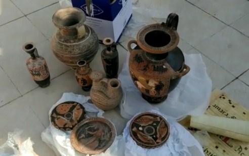 """הבוקר נחשף בת""""א מצבור פריטי עתיקות בשווי עשרות מיליוני ש""""ח החשודים כגנובים – 3 חשודים נעצרו"""