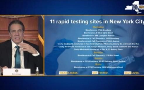 לצד המשך חיסונים: מדינת ניו יורק השיקה מתווה אירועי תרבות ועסקים עם בדיקות מהירות