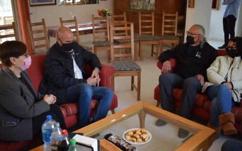 """השר אמיר אוחנה ביקר את אריה שיף בביתו: """"כתב האישום נגדך לא צריך היה להיות מוגש – צריך לבטלו"""""""
