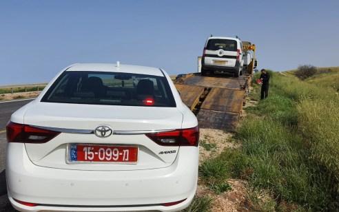 כביש 6: נתפס נוהג בזמן פסילה, והתברר כי רישיון הנהיגה לא בתוקף מאז שנת 2009