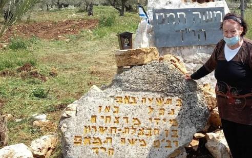 """בשבוע בו שוחרר המחבל שרצח את החייל משה תמם ז""""ל – שופצה היום האנדרטה במקום בו נמצאה גופתו"""